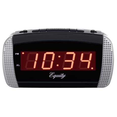 equity by la crosse 30240 loud led alarm clock