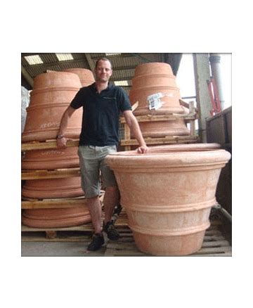 large terracotta planters large italian terracotta pots and planters