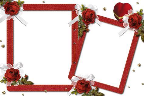 Wedding Album Romantica Psd by Transparent Photo Frame With Roses