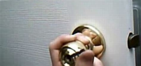 open bathroom door lock how to open a bedroom or bathroom door when you re locked