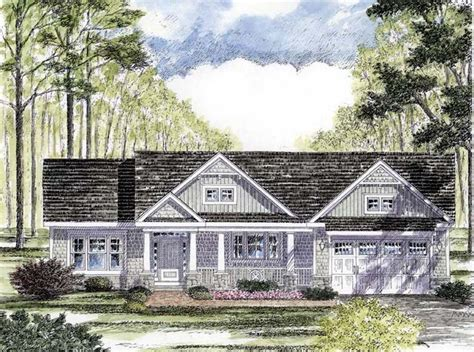 Cottage Craftsman Ranch House Plan 94182 Cottage Ranch House Plans