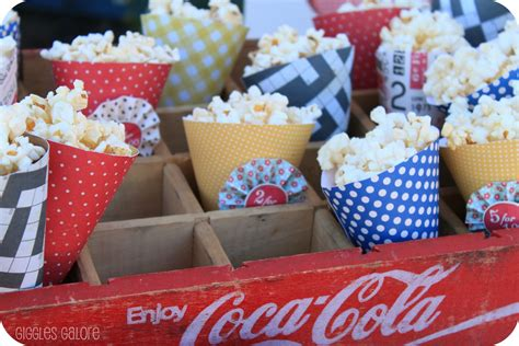How To Make Paper Cones For Popcorn - tips for throwing a on a budget