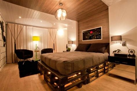 beautiful chambre en bois de palette pictures seiunkel