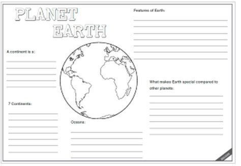 Worksheet On Earth by Planet Earth Worksheet Calleveryonedaveday