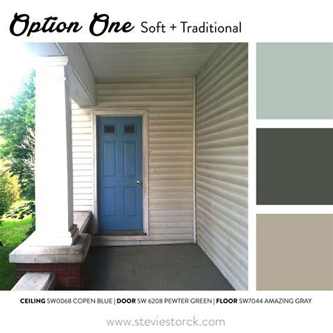 porch colors front porch exterior paint color inspiration stevie