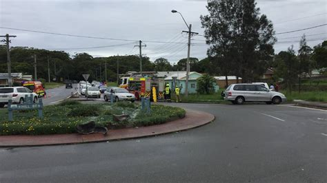 Car Port Macquarie by Car Overturned In Creek Port Macquarie News