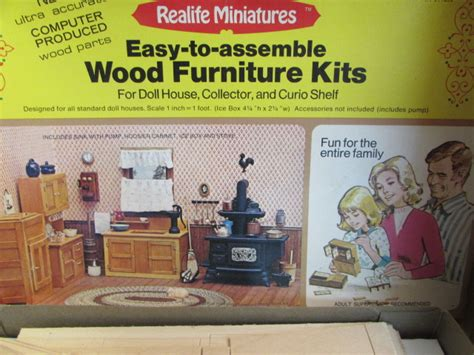 doll house furniture kit lot detail dolls miniature doll house furniture kits