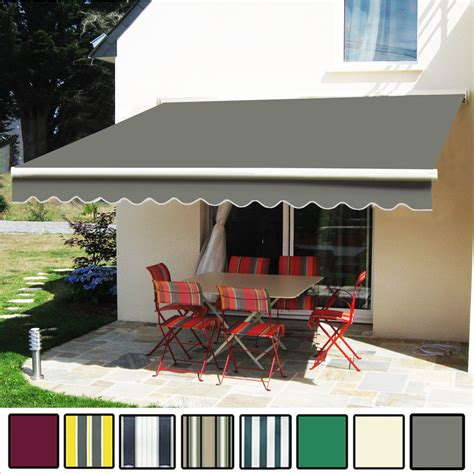 Patio Awning Ebay 3 5 X 2 5m Manual Awning Garden Patio Shelter Sun Shade