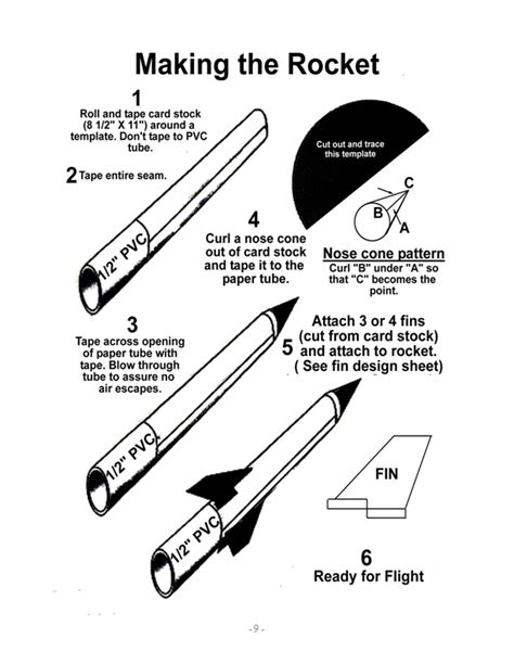 How To Make Paper Rocket - pony express district cub scouts paper rocket launcher