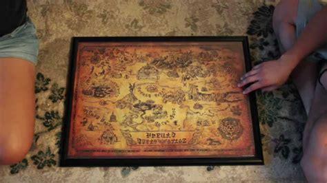 legend of zelda map puzzle the legend of zelda collector s puzzle map youtube