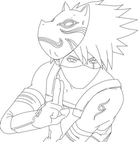 imagenes para dibujar kakashi 2877 render anbukakashi by nemumajo on deviantart