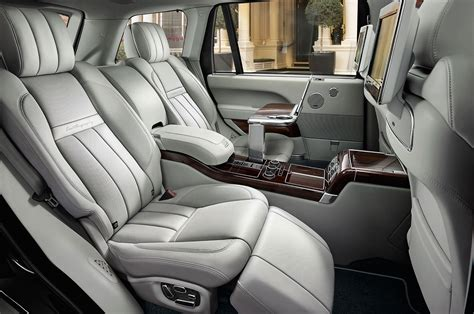 land rover interior 2016 land rover range rover reviews and rating motor trend