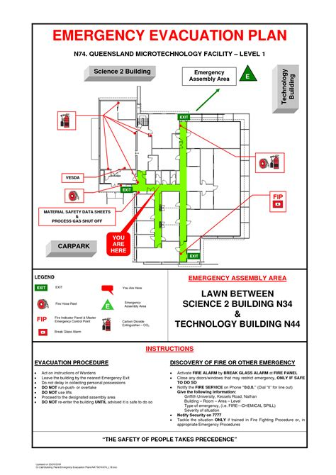 emergency evacuation floor plan template 28 images and