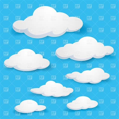 eps clipart cloudy sky 7139 backgrounds textures abstract
