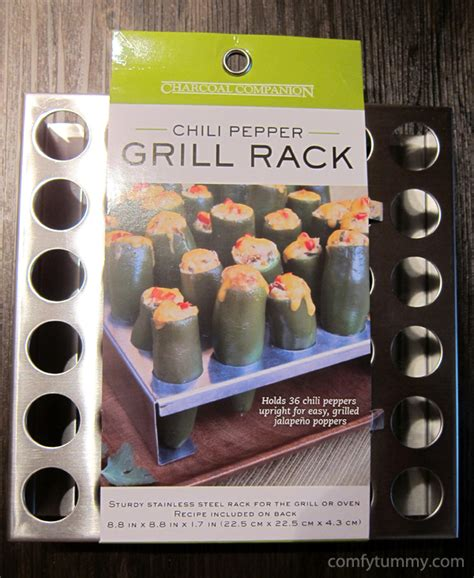 Pepper Grill Rack by Chili Pepper Grill Rack And Corer Comfy Tummy