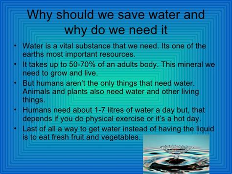 Why We Do Not Need To Detox From Technology by Saving Water Bradley