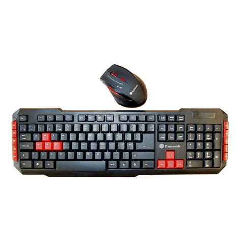 Keyboard And Mouse Gaming Dynamode Wireless Usb Nano Gaming Keyboard And Mouse