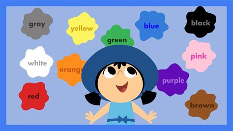 All The Colours quot look at all the colors i can see quot by abcmouse