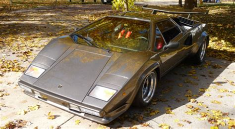 Lamborghini Built In Basement A 1980 Lamborghini Countach Built In The Basement Ebay