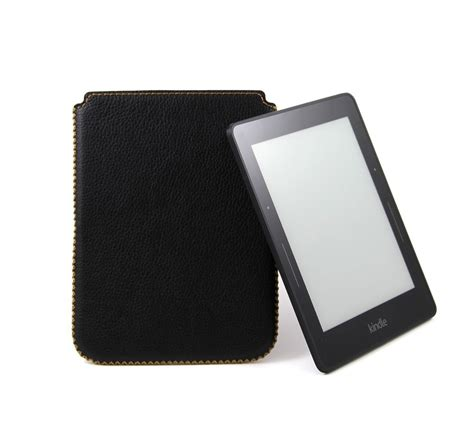 Leather Kindle Cover Handmade - handmade genuine leather sleeve for kindle