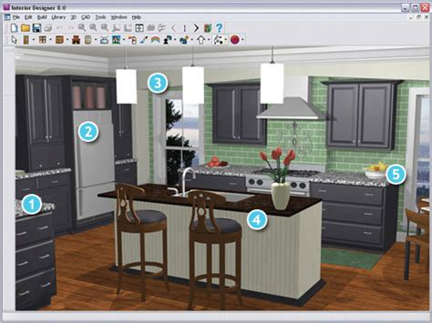 Free Online Kitchen Design Software | 4 kitchen design software free to use modern kitchens