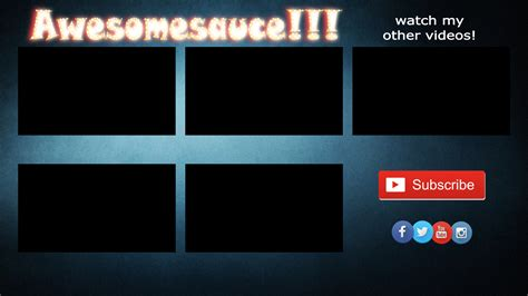Outromaker How To Create Your Own Customized Youtube Outro Template Intro Outro Templates