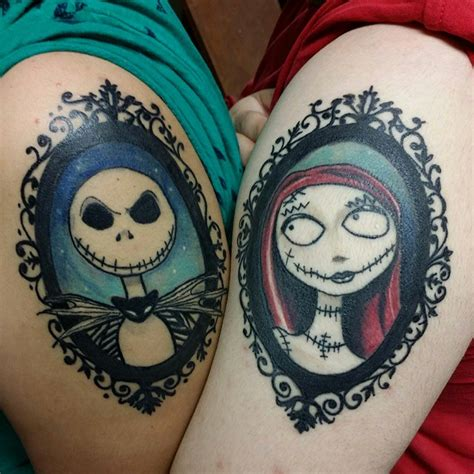 nightmare before christmas couples tattoos 75 best nightmare before design ideas 2018
