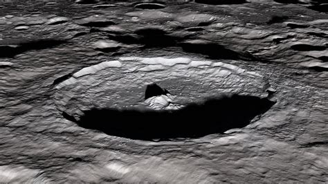 moons tycho crater  scientists parts   moon flickr