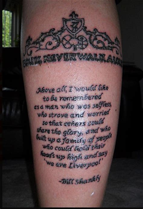 liverpool fc tattoos designs top 10 lfc tattoos liverpool fc
