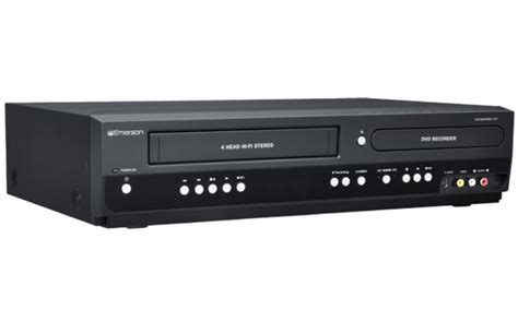 emerson dvd player format emerson dvd recorder vcr with line in recording