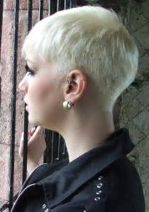 back view of womens hairstyles with clippered back hairxstatic short back cropped gallery 2 of 3