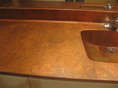 Copper For Countertops by Finishing Acts July 2012