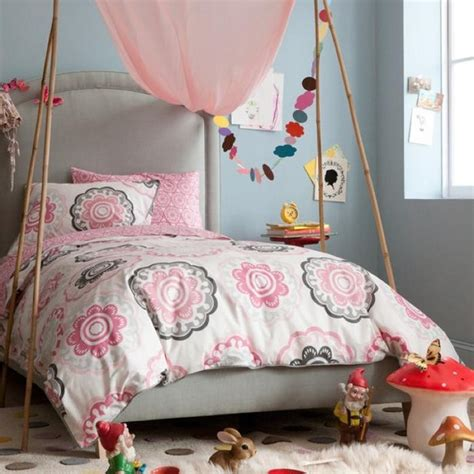 modern kids bedding dwellstudio zinnia rose duvet set modern kids bedding
