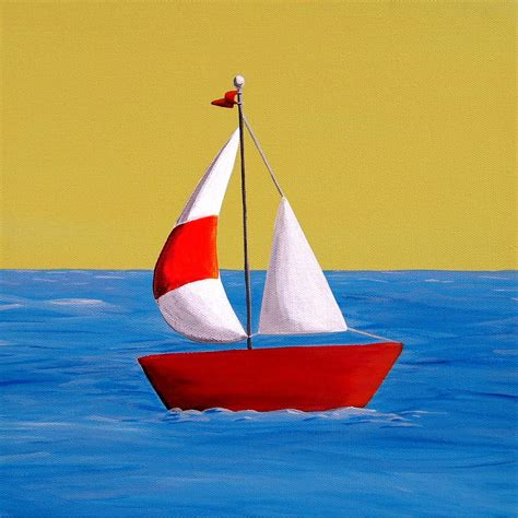 simple boat simple sailboat painting google search painting ideas