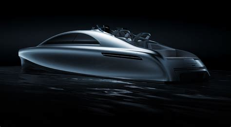 car boat design world premiere of the mercedes benz style luxury yacht