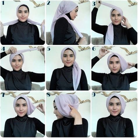 tutorial hijab paris turban terbaru tutorial hijab modern turban terbaru 2016