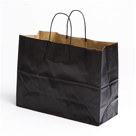 Paper Bags For - black paper shopping bags large a b store fixtures