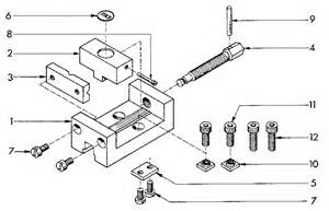 diagram of a bench vice machine vice diagram parts list for model 549289000