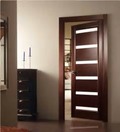 Home Interior Doors by Tokio Glass Modern Interior Door Wenge Finish Modern