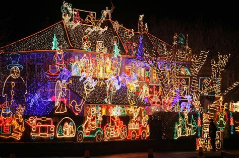 stunning christmas lights photo  pictures cbs news