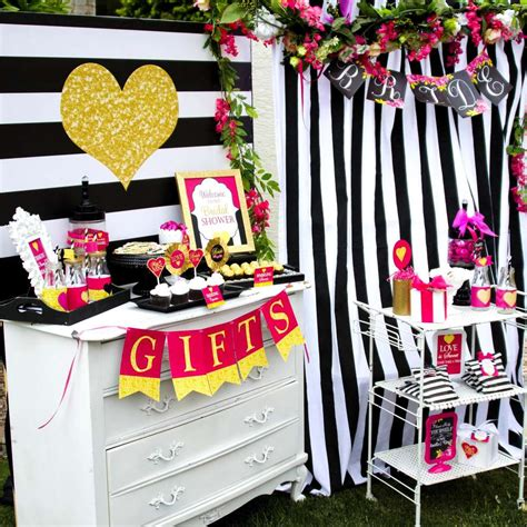 black and white bridal shower ideas 1 photos archives page 9 of 18 bridal shower ideas themes