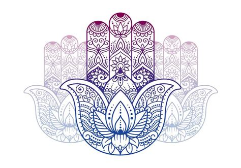 buddhist symbols hand download free vector art stock