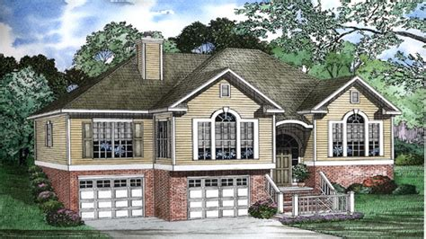 split level home designs split entry house plans best split level home plans grade