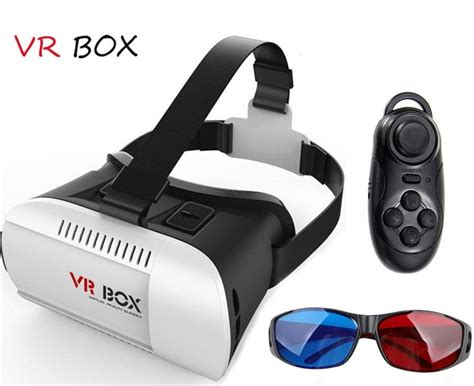 Termurah Vr Vr Box 2 3 3d Bluetooth Smartphone Universal Remote best cheap vr box 2 0 vr 360 vr headset 3d glasses