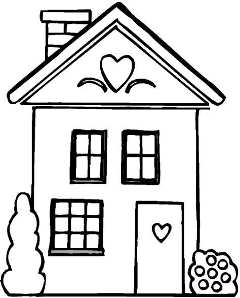 House From Up Outline by Dibujo De Una Casa Recurso Educativo 97798 Tiching