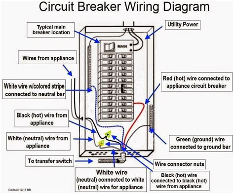 dc circuit breaker wiring diagram get free image about