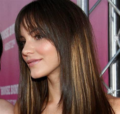 t section highlights for dark hair partial foil highlights on black hair dark brown hairs