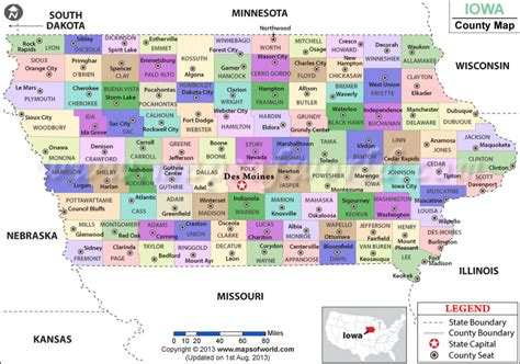 Iowa Number Search Iowa County Map Iowa Counties