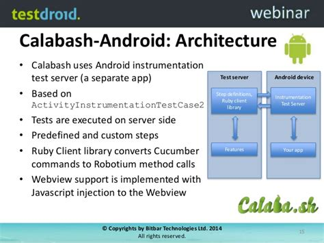 calabash android tips and tricks with calabash for mobile app testing