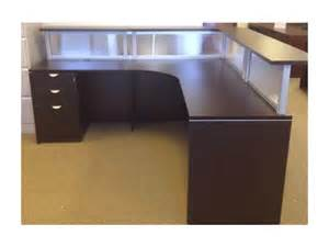 Reception Desk Pictures Reception Desks With Bbf Pedestal Used Office Furniture Dallas